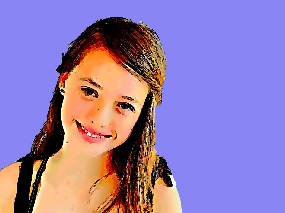 Portrait von Lara